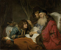 Govert_Flinck_Isaak_zegent_Jacob